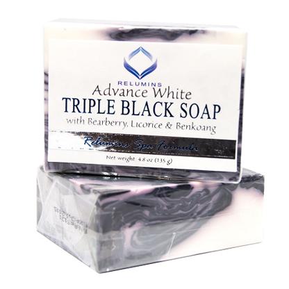 Relumins Spa - Triple Black soap