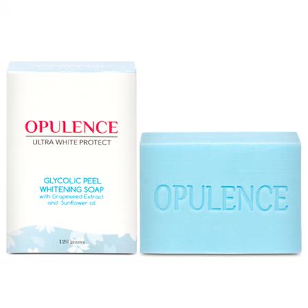 Opulence Ultrawhite Protect Glycolic Peeling Whitening Soap