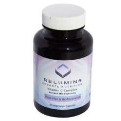 Relumins Vitamin-C 1000mg with Rosehips 60capsules