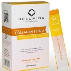 Relumins Collagen Blend drink 10sachets Pineapple flavor