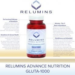 Relumins Reduced glutathione features