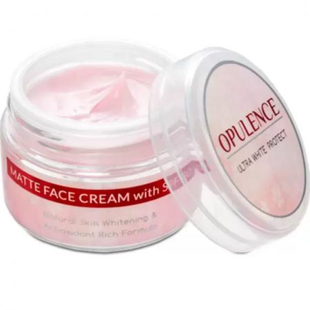 Opulence Ultrawhite Protect Matte Finish Face Cream