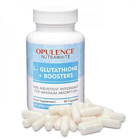 Opulence NUTRAWHITE L-Glutathione + Boosters 60 capsules