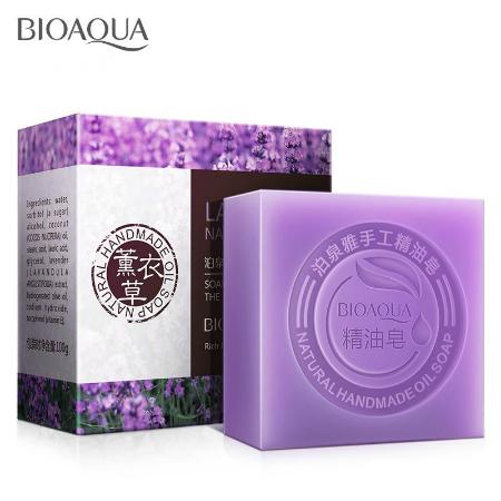 Bioaqua natural whitening soap Lavender