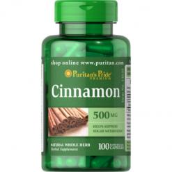 Puritans Pride Cinnamon 500mg 100 Capsules Relumins Philippines