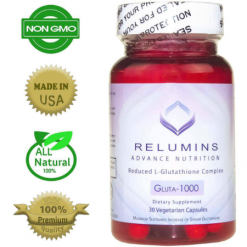 Relumins Advance Nutrition Gluta 1000mg Reduce Glutathione 30 Capsules
