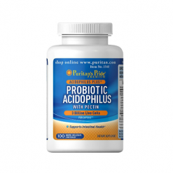 Puritans Pride Probiotic Acidophilus With Pectin 100 Capsules Relumins Philippines
