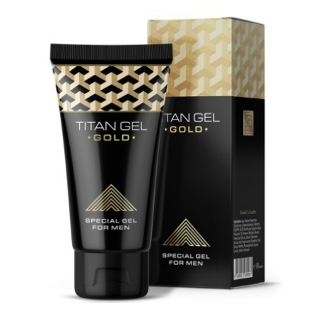 authentic titan gel gold premium lubricant penis enlarger