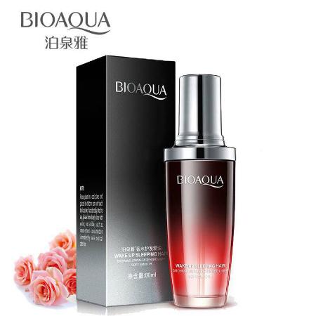 Authentic Bioaqua Argan Oil serum Nourishing hair repair Rose 80ml Relumins shopee