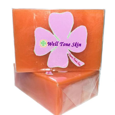 well tone skin Tomato soap