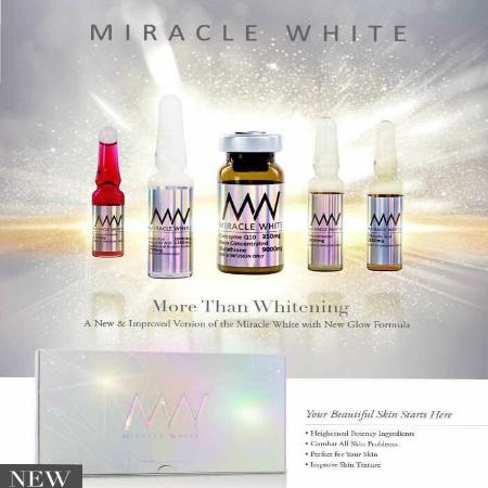 Miracle White Glutathione IV from Switzerland