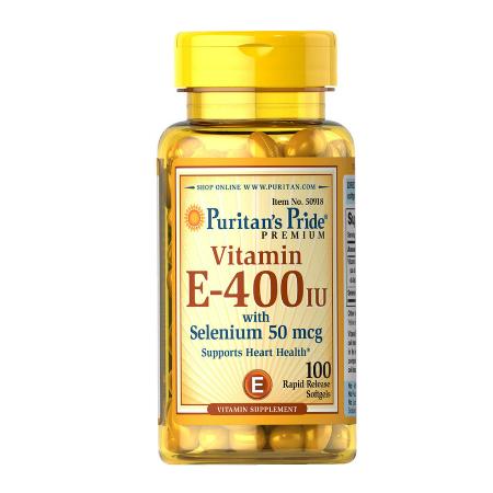 Puritans-Pride-Vitamin-E-Selenium-400iu-50mcg-100-Softgels-Review-Philippines