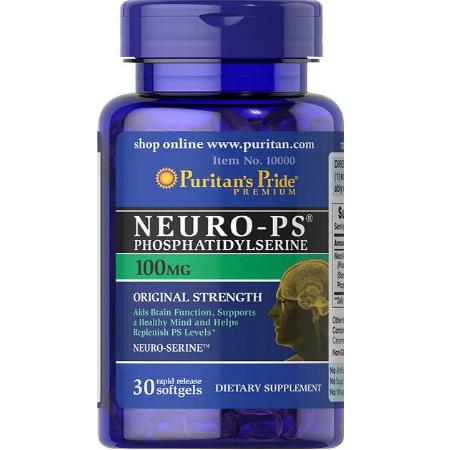 Puritans-Pride-Neuro-PS-Phosphatidylserine-100mg-30-softgels