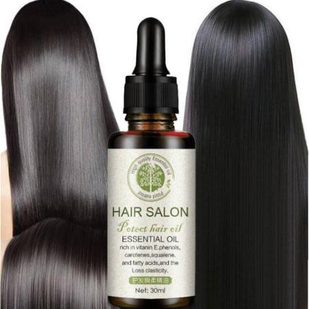 Hair Salon Moroccan Vitamins essential Organic oil for Damaged hair Hair loss and Frizzy hair 30ml-2