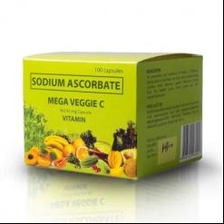 MEGA-Veggie-Vitamin-C-562.43mg-Sodium-Ascorbate-100-capsules-FDA-APPROVED