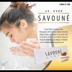 AUTHENTIC-24-Alkaline-Savoune-Whitening-Snail-Botox-3pcs