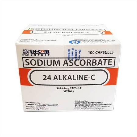 AUTHENTIC-24-AlkalineC-Sodium-Ascorbate562mg-100-Capsules-FDA-APPROVED