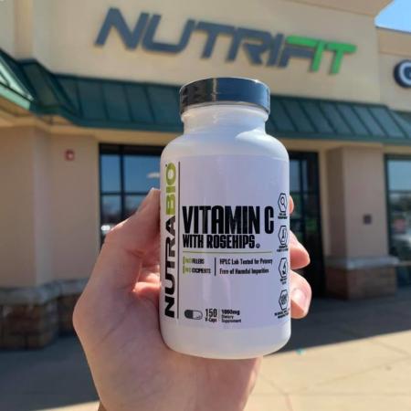 Authentic-NUTRABIO-Vitamin-C-1000mg-Rosehips-And-Bioflavonoids-150-Capsules