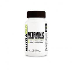 Authentic-NUTRABIO-Vitamin-C-1000mg-Rosehips-And-Bioflavonoids-150-Veg-Capsules