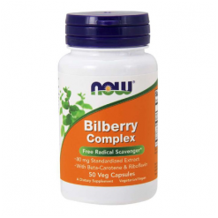Authentic-Now-Foods-Bilberry-Complex-With-Beta-Carotene-And-Riboflavin-80mg 50-Capsules