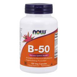 Authentic-Now-Foods-Vitamin-B-50-Complex-100-Veg-Capsules