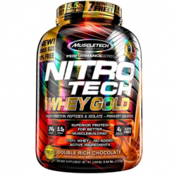 Muscletech-Nitro-Tech-Whey-Gold-5.5lbs-Double-Rich-Chocolate-Muscle-Builder