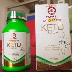 Tatio-Active-Dx-Keto-2000mg-60-Softgels-Fat-Burner=Weight-Loss-Slimming-Softgels-Supplement-Facts-Detoxification