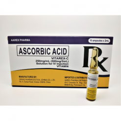 AUTHENTIC-Vitarex -C-Vitamin-C-Ascorbic-Acid-10-Ampules