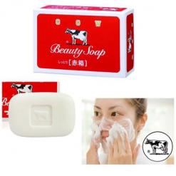 Cow-Beauty-Soap-Whitening-100g-Red-Acne-Prone-Sun-Damage-Skin-Problem