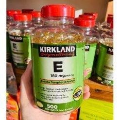 Kirkland-Signature-E-180mg-400iu-Dl-Alpha-Tocopheryl-Acetate-500sg-Anti-Oxidant