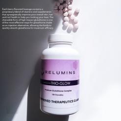 Relumins-Thio-Glow-Glutathione-Complex-Biotib-Chewable-180-Whitening-Brightening-Supplement-Facts