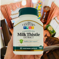 21st-Century-Milk-Thistle-Extract-60-Capsules-Anti-Oxidant-Supllement-Facts-Healthy-Liver