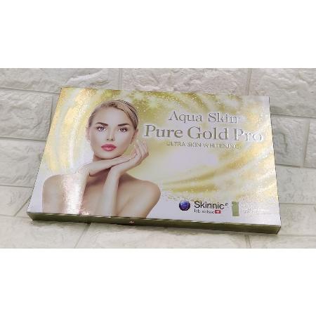 Aqua-Skin-Pure-Gold-Pro-Ultra-Skin-Whitening-Glowing-Glutthione-30vials-Anti-Aging