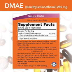 Authentic-Now-Foods-DMAE-(Dimethylaminoethanol)-250mg-Brain-Health-100-capsules-3