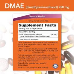 Authentic-Now-Foods-DMAE-(Dimethylaminoethanol)-250mg-Brain-Health-100-capsules-3