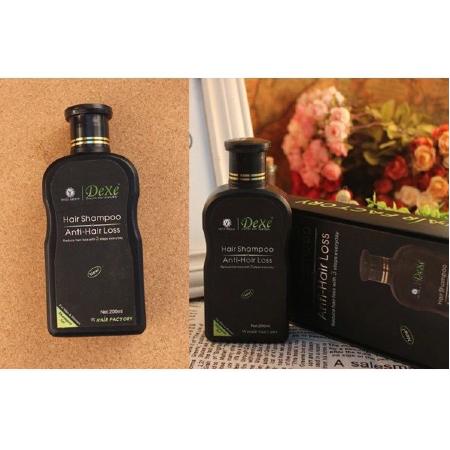 Dexe-Hair-Shampoo-Anti-Hair-Loss-200ml-Reduce-Hair-Fall-Frizzy-Damage-Volumizing-Hair-Thickness-Dryness