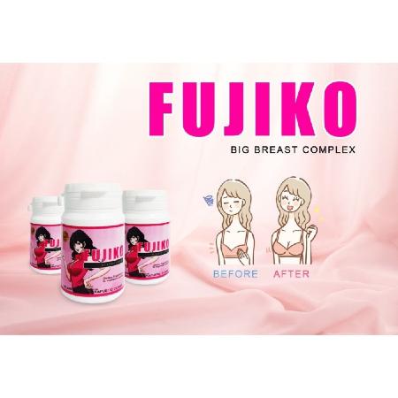 Fujiko-Big-Breast-Complex-30-Capsules-Rejuvenation--Menopause-Free-Radicals-Vegetarian-Supplement-Facts