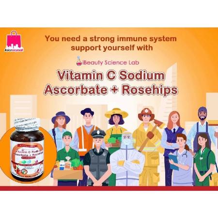 Ibeauty-Vitamin-C-Sodium-Ascorbate-Rosehips-Zinc-30-Capsules-FDA-Certificate-Boost-Immunity
