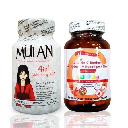Mulan-4in1-Whitening-x30-60-Capsules-Ibeauty-Vitamin-C-30-Capsules
