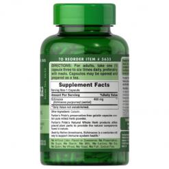 Puritans-Pride-Echinacea-400mg-100-Capsules-Supplement-Facts