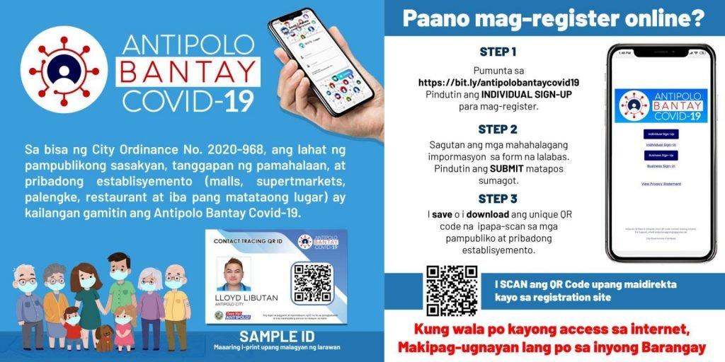 Antipolo QR code registration