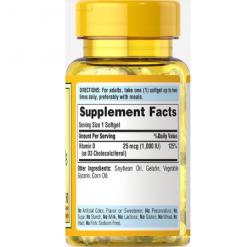 Puritans-Pride-Sunvite-High-Potency-Vitamin-D3-25mcg-1000IU-Supplement-Facts