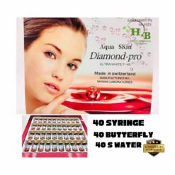 Aqua-Skin-Diamond-Pro-Syringe-Butterfly-Water