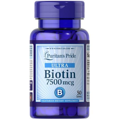 Puritans-Pride-Ultra-Biotin-7500mg-50-Tablets