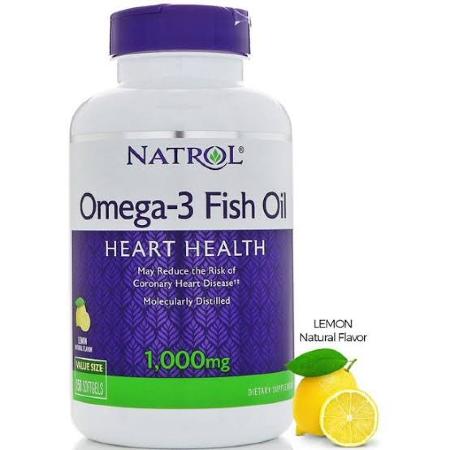 Natrol-Omega-3-Fish-Oil-1000mg-60-Softgels